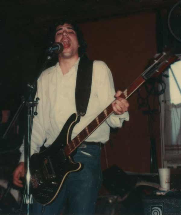 Richard Del Connor on Bass